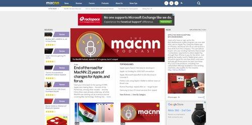 陪同苹果20年:新闻网站MacNN下月关闭