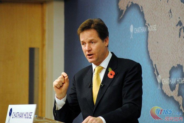 Facebook已任命英国前副首相为全球事务主管  第1张