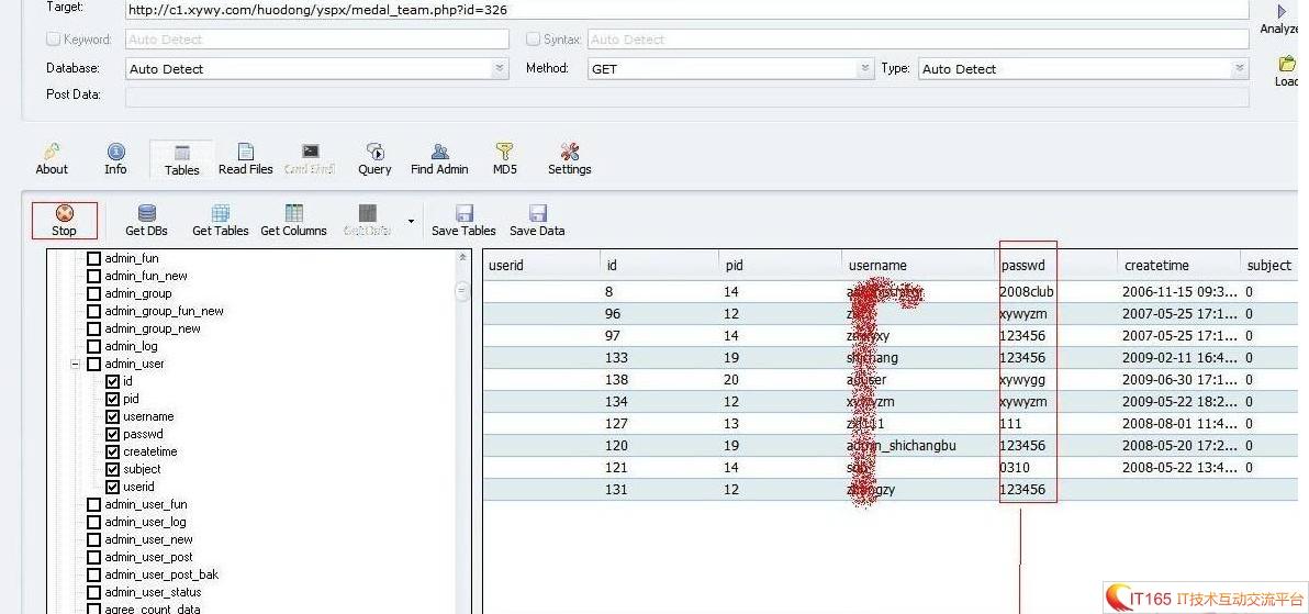寻医问药网SQL注射漏洞及XSS 部分密码明文存储